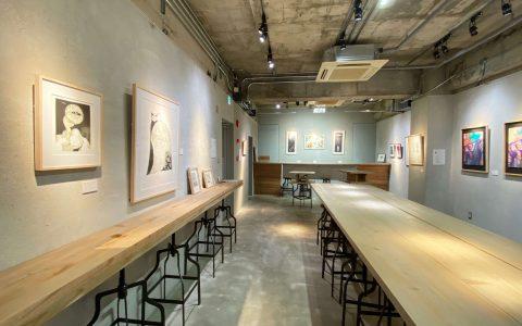 ギャラリー+センターテーブル